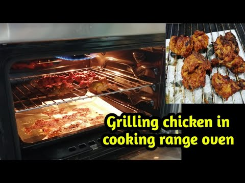 how to grill chicken in electric oven