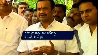 Komatireddy Venkat Reddy meets KCR in Hyderabad