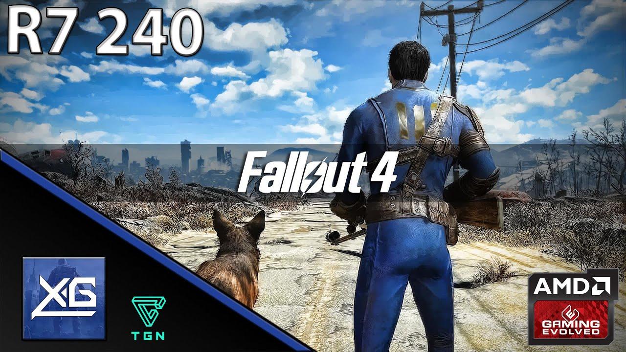 Fallout 4 On Amd Radeon R7 240 2gb Gddr3 Wasteland Windows 10 Gigabyte Gv R724oc 2gi Vga 128bit