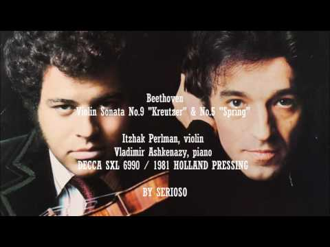 Beethoven, Violin Sonata No 9 Kreutzer and No 5 Spring , Itz