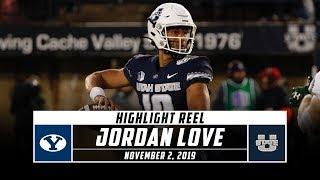 Jordan Love Highlights: BYU vs. Utah State (2019) | Stadium
