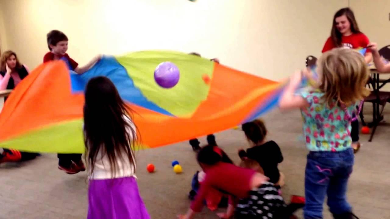 Birthday Party Games Musical Chair Parachute Games
