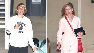 Hailey Baldwin Comforts Justin Bieber At Church As He Tries To Forget Selena