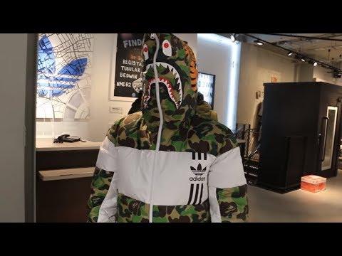 1455c7aec4dbe BAPE X ADIDAS DROP 2017 - ID96 TRACK jacket Review - YouTube