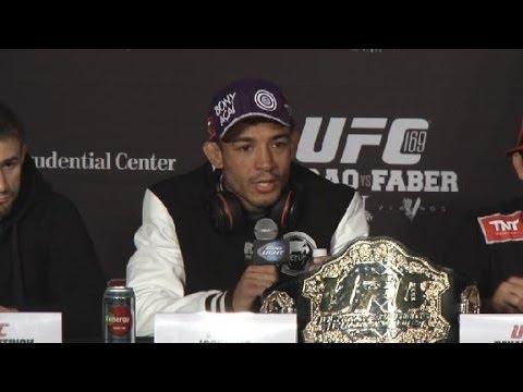 UFC 169: Post-Presser Highlights