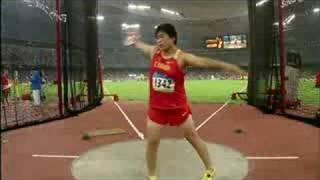 Athletics - Women's Discus Final - Beijing 2008 Summer Olympic Games