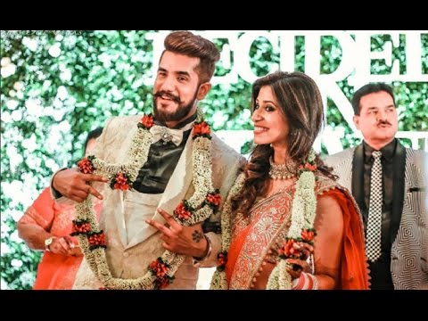 Suyyash Rai And Kishwer Merchant Reception - Full Uncut Video