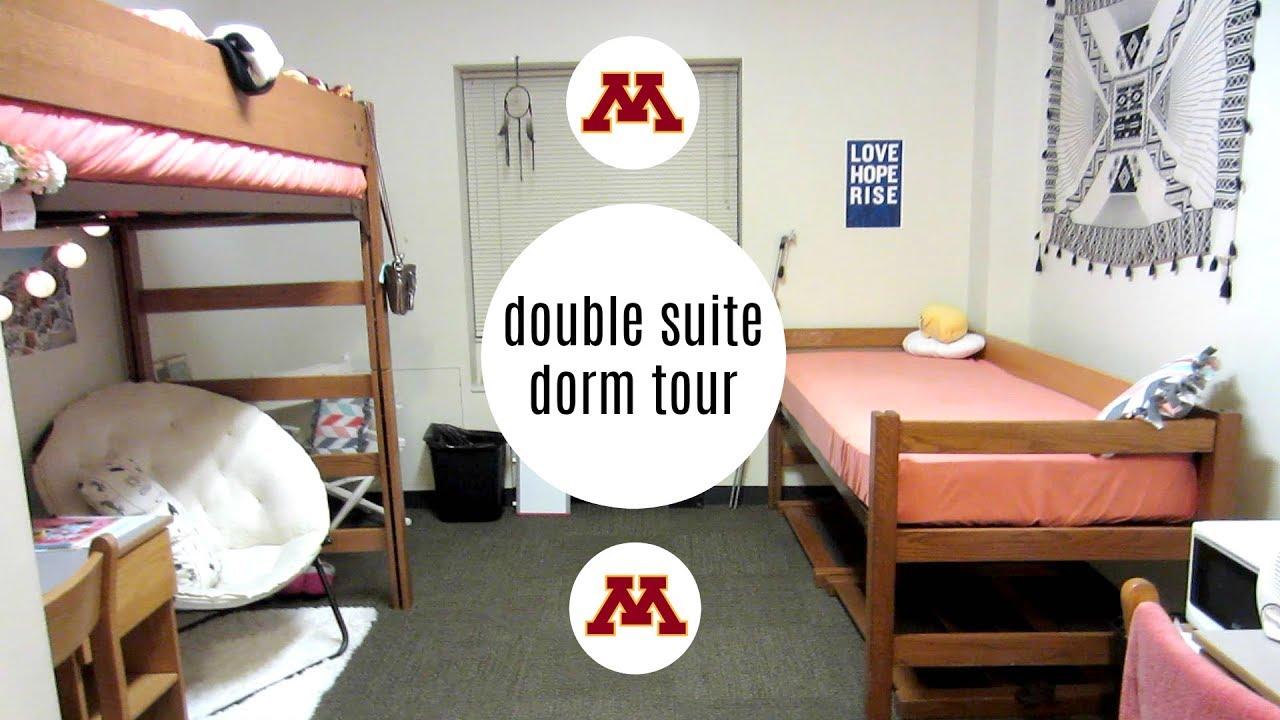 Elegant Double Suite Dorm Tour   University Of Minnesota Twin Cities