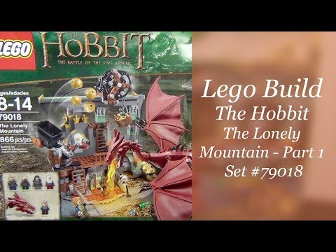 LEGO Hobbit Build - The Lonely Mountain Set #79018 - Part 1