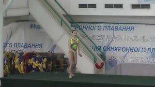 Чемпіонат України 2016. Соло. Довільна програма. м.Київ-2
