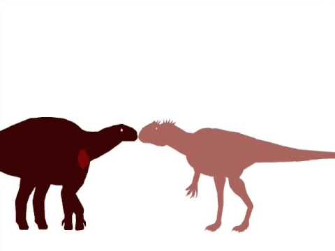 ASDC - Iguanodon vs Allosaurus
