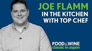 Top Chef Joe Flamm makes Pasta from Scratch | Food & Wine Classic in Aspen 2018