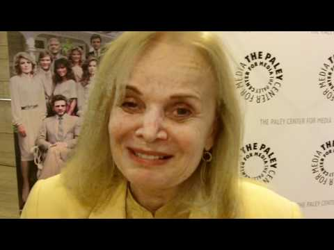 Margaret Ladd at the Falcon Crest reunion at Paley Center