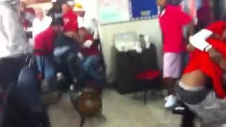 Waffle house fight