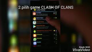 Cara hack di game clash of clans mengunakan lucky pacther no root