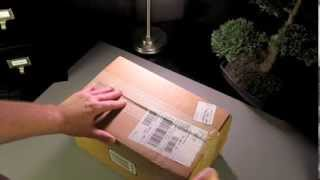 Unboxing Tiffany & Co. Crystal Champagne Flutes