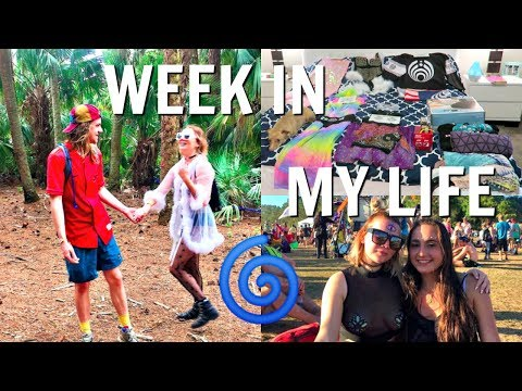 PACKING FOR A FESTIVAL | MY OUTFITS + WHAT I BRING | WEEK IN MY LIFE