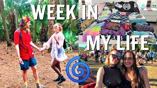 PACKING FOR A FESTIVAL   MY OUTFITS + WHAT I BRING   WEEK IN MY LIFE