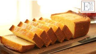 Lemon Ricotta Pound Cake Recipe