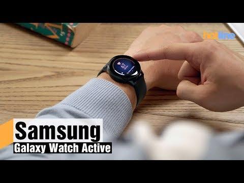 Samsung Galaxy Watch Active — обзор смарт-часов