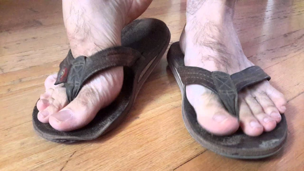 8063d714edec FOR SELL!! Used Extremely Worn Rainbow Sandals - YouTube