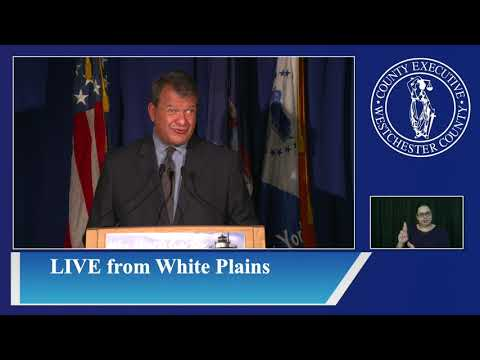 Westchester County Executive George Latimer's weekly COVID-19 briefing on Monday, Sept. 21.