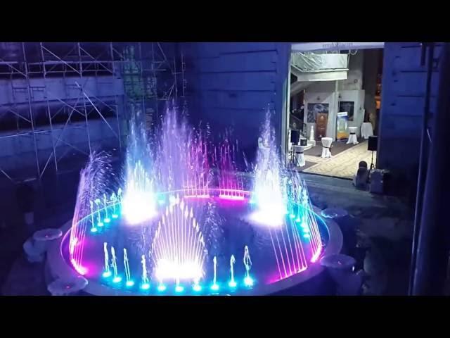 Nhạc nước độc đáo tại dự án Palais De Louis - Hà Nội