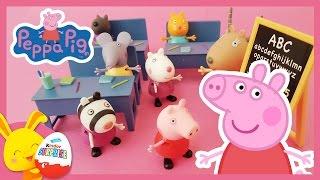 Peppa Pig en français - La classe d'école de Peppa - Jouets pour enfants - Titounis