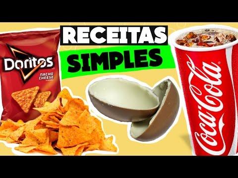 Como fazer Coca-Cola, Doritos e Kinder Ovo em casa! Fácil, barato e rápido :p