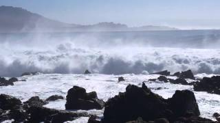 Surfing Monsters at Ghost Tree Pebble Beach, California February 4th, 2016