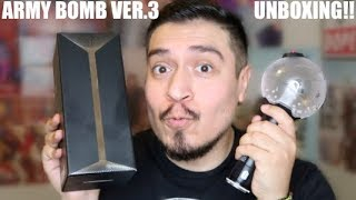 BTS ARMY BOMB VER.3 UNBOXING!