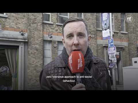 Litter and antisocial behaviour in north inner city Dublin