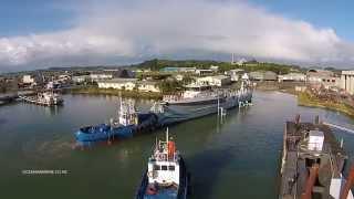 OCEANIA MARINE   53M UMBRA PROJECT - DRONE VIDEO