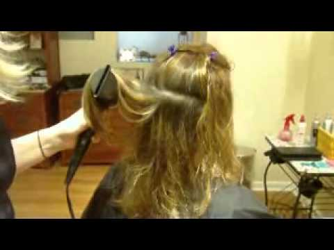 How to Blow Dry Your Hair With Long Layers: Round Brush (Part 1 of 2)