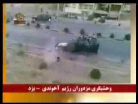 16 azar - Iran - Mojahedin (hamle be mardom, hamontor ke be mojahedin hamle kardand)