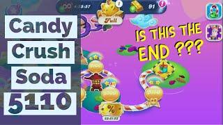 LAST LEVEL ON EPS. WORLD 299th | CANDY CRUSH SODA SAGA LEVEL 5096-5110 ★★★