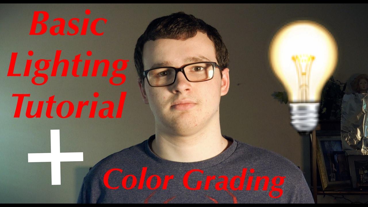 Key Light Fill Light and Backlight + Color Grading!  sc 1 st  YouTube & How To: Basic Lighting Tutorial! Key Light Fill Light and ... azcodes.com