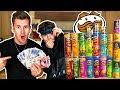 BROTHERS TRY EVERY FLAVOUR OF PRINGLES BLINDFOLDED - £1,000 PRIZE MONEY