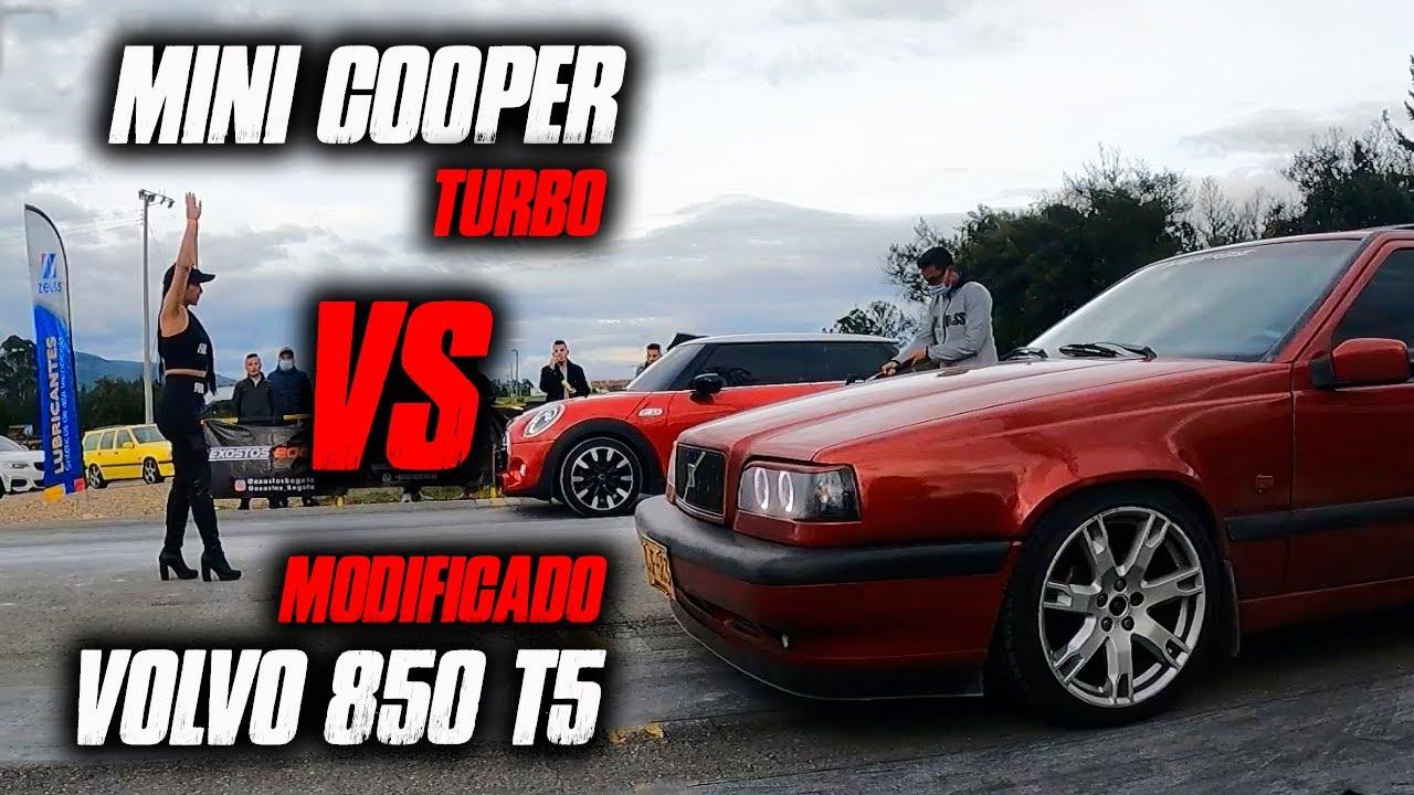 Volvo 850 T5 Modificado VS Mini Cooper Turbo!! EPICA!! SIN PALABRAS!!