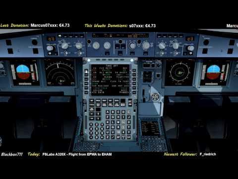 [P3D] FSLabs A320 - Warsaw (EPWA) To Amsterdam (EHAM) During Storm Doris