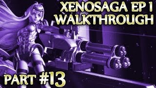 Ⓦ Xenosaga Ep. 1 Walkthrough - Part 13 ▪ E.S. Simeon, Ein Rugel and Doppelwogel Boss Fights [PCSX2/1080p]