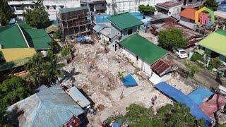 필리핀 세부 막탄 다이빙 리조트 건축 전 부지 철거 (…