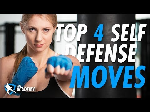 Top 4 Self Defense Moves for Beginners