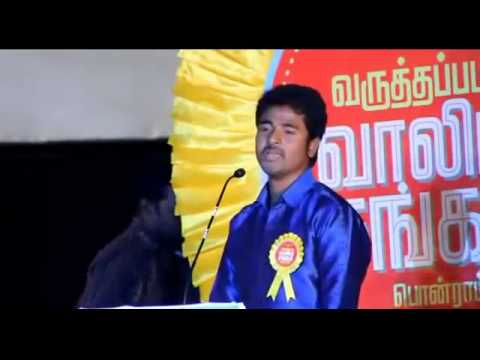 Sivakarthikeyan Funny speech about Sathyaraj Bald Head