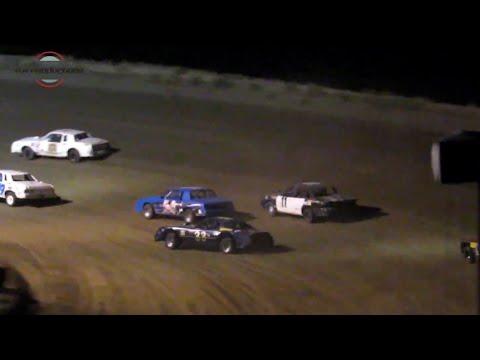 Desert Thunder Raceway Hobby Stock Heat Races 9/28/18