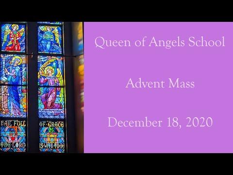 Queen of Angels School Advent Mass