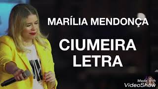 Marília Mendonça - Ciumeira (Letra ) thumbnail