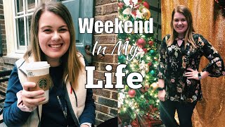 Weekend In My Life: Convention, White Christmas, Productivity, & More