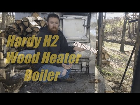Hardy H2 Wood Heater/Boiler on