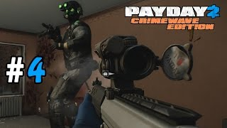 Payday 2: Crimewave Edition Walkthrough Part 4 - Nothing But Problems